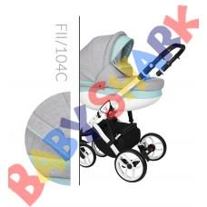Коляска 2в1 Baby Merc Faster Style 2 FII/104C