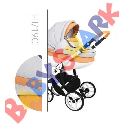 Коляска 2в1 Baby Merc Faster Style 2 FII/19C