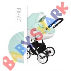 Коляска 2в1 Baby Merc Faster Style 2 FII/6C
