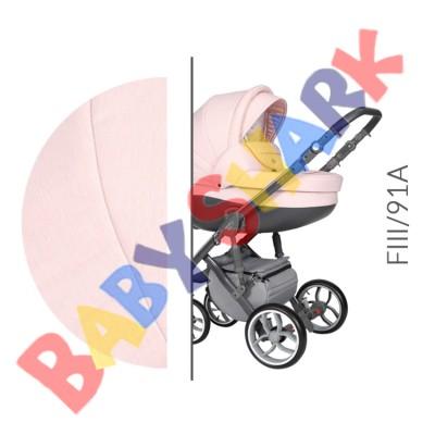 Коляска 2в1 Baby Merc Faster Style 3 FIII/91A