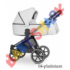 Универсальная коляска 2в1 Riko Qubus 04 platinum