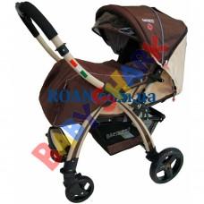 Прогулочная коляска Baciuzzi B20 brown-beige