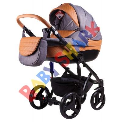 Универсальная коляска 2в1 Adamex Prince X-23