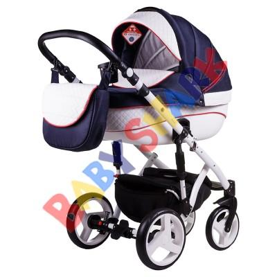 Универсальная коляска 2в1 Adamex Prince X-8