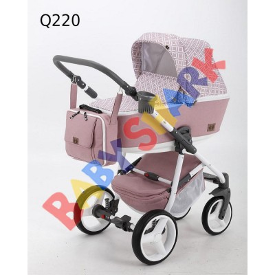 Коляска 2в1 Adamex Reggio Q220