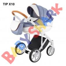 Коляска 2в1 Adamex Dragon Tip X 10