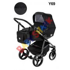Коляска 2в1 Adamex Reggio Limited Chrom Y69