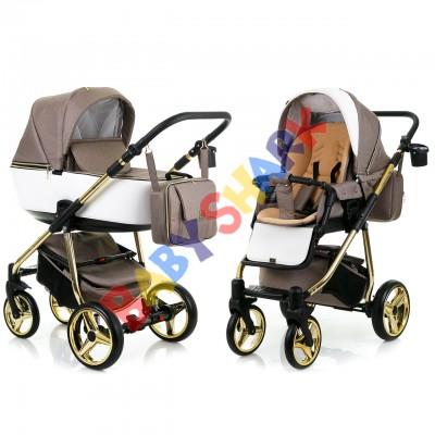 Коляска 2в1 Adamex Reggio Limited Chrom Y801