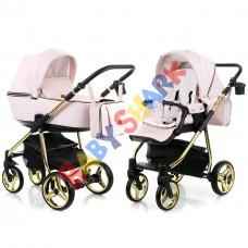 Коляска 2в1 Adamex Reggio Limited Chrom Y813