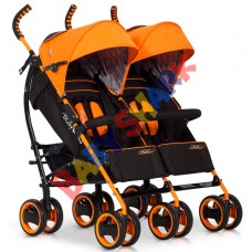 Коляска-трость EasyGo Duo Comfort Electric Orange
