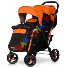 Прогулочная коляска EasyGo Fusion Duo Electric Orange