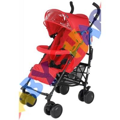 Прогулочная коляска-трость Quatro Lily Red №1