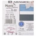 Коляска 2в1 Adamex Monte Carbon Deluxe D22