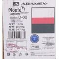 Коляска 2в1 Adamex Monte Carbon Deluxe D32