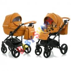 Коляска 2в1 Bebe-mobile Ravenna кожа V206