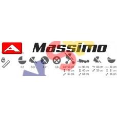 Коляска 2в1 Adamex Massimo V29