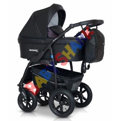 Универсальная коляска 3в1 Verdi Sonic Plus 02 black/violet
