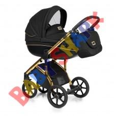 Универсальная коляска 2в1 Roan Bass Soft Golden line black