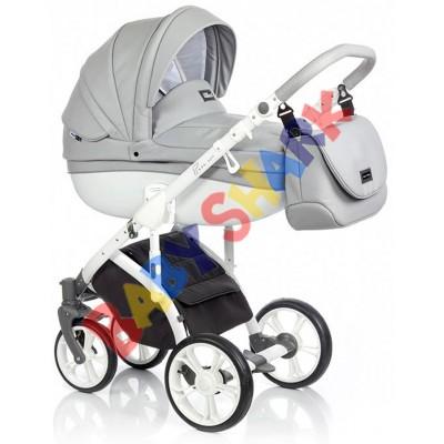 Универсальная коляска 2в1 Roan Bass Soft Eco Dove White