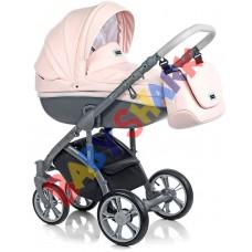 Универсальная коляска 2в1 Roan Bass Soft Eco Romantic Pink