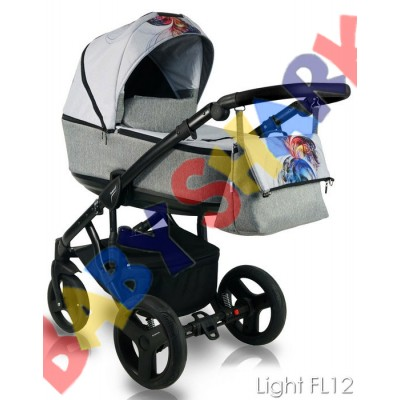 Коляска 2в1 Bexa Fresh Light FL12