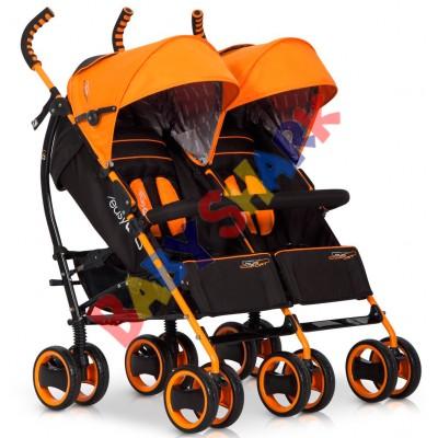 Коляска-трость EasyGo Duo Comfort Electric Orange