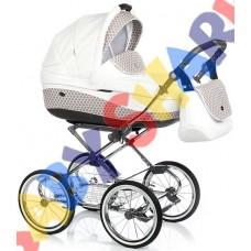 Универсальная коляска 2в1 Roan Emma Chrom E-43(кожа)