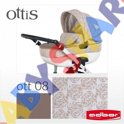 Универсальная коляска 2в1 Adbor Ottis 08