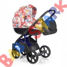 Универсальная коляска 2в1 Roan Bass Soft Pop Art