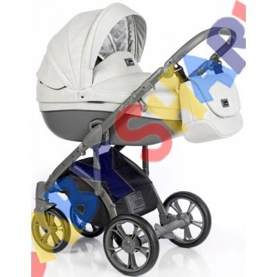 Универсальная коляска 2в1 Roan Bass Soft Basic Mineral Grey