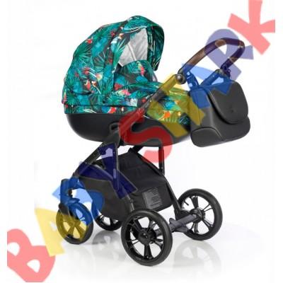 Универсальная коляска 2в1 Roan Bass Soft Secret Garden