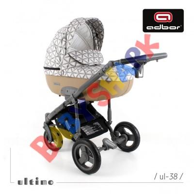 Универсальная коляска 2в1 Adbor Ultimo 38