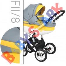 Коляска 2в1 Baby Merc Faster Style 2 FII/8
