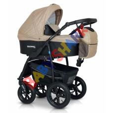Универсальная коляска 3в1 Verdi Sonic Plus 05 beige/black