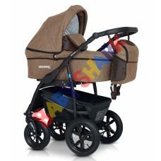 Универсальная коляска 3в1 Verdi Sonic Plus  14 brown