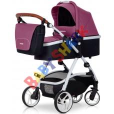 Универсальная коляска 2в1 EasyGo Optimo Purple