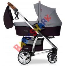 Универсальная коляска 2в1 EasyGo Virage Ecco Anthracite