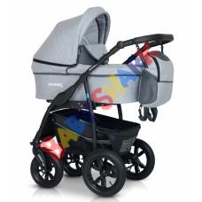 Универсальная коляска 3в1 Verdi Sonic Plus  15 light grey