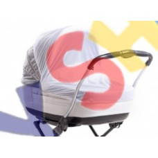 Универсальная москитная сетка на коляску 2в1