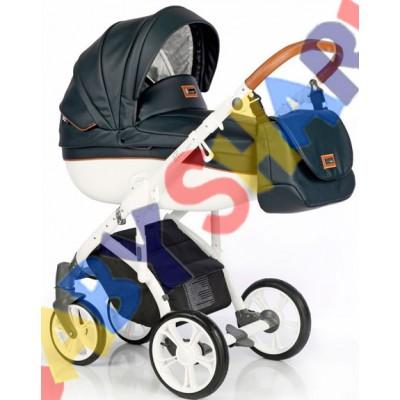 Универсальная коляска 2в1 Roan Bass Soft Eco Deep Ink