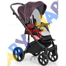 Универсальная коляска 2в1 Roan Bass Soft Eco Lavender Night