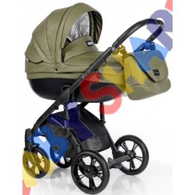 Универсальная коляска 2в1 Roan Bass Soft Eco Olive Night