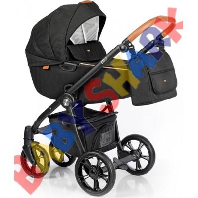 Универсальная коляска 2в1 Roan Esso Caviar Black
