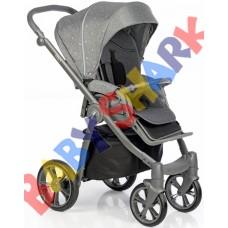 Универсальная коляска 2в1 Roan Esso Silver Chic