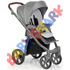 Универсальная коляска 2в1 Roan Esso Total Grey