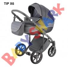Коляска 2в1 Adamex Dragon Tip X6
