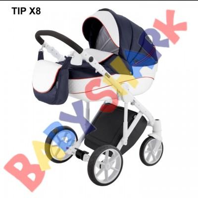 Коляска 2в1 Adamex Dragon Tip X 8