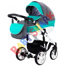 Универсальная коляска 2в1 Adamex Prince X-11