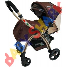 Прогулочная коляска Baciuzzi B 20 brown-beige