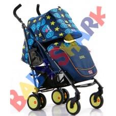 Прогулочная коляска Baciuzzi B7 jeens blue